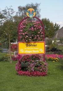 Sohier un des plus beaux villages fleuris de Wallonie
